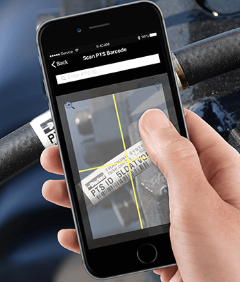 Scanning PTS Barcodes with the PTS Mobile App - Progressive Hydraulics Inc.