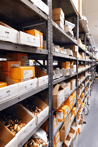 Vendor Managed Inventory in a Store Stocked with Parker Parts - Progressive Hydraulics Inc