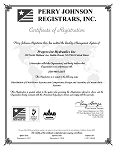 Saddle Brook's ISO 9001:2015 Certificate