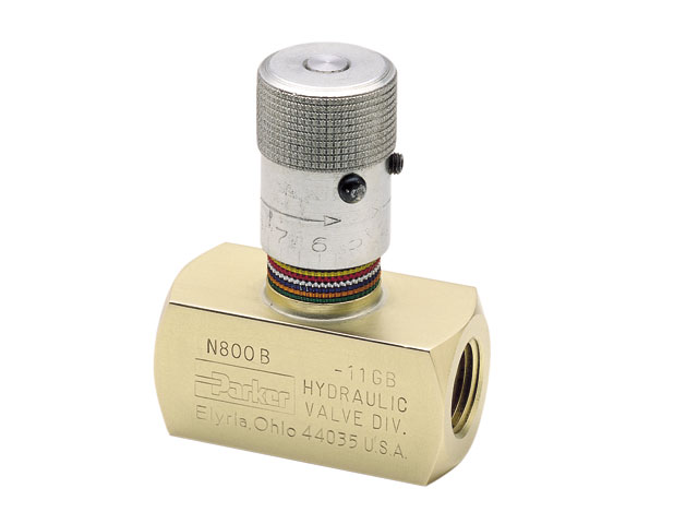 N200S Colorflow Needle Valve - NPT