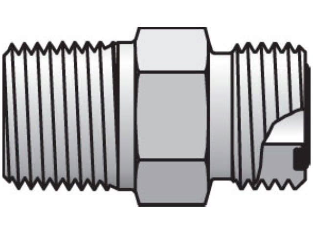 6-8 FLO-S Seal-Lok ORFS Straight FLO