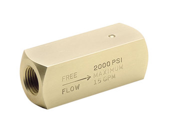 9C400S-V Colorflow Check Valve - BSPP