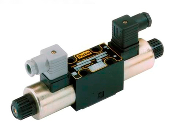D1VW004CNYCF D1VW Series - Double solenoid, 3 position, spring centered