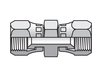 12 HX6-S Triple-Lok 37° Straight Swivel HX6